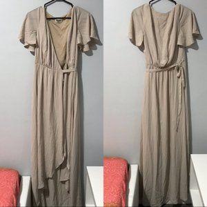 Show Me Your Mumu Wrap Dress Size S